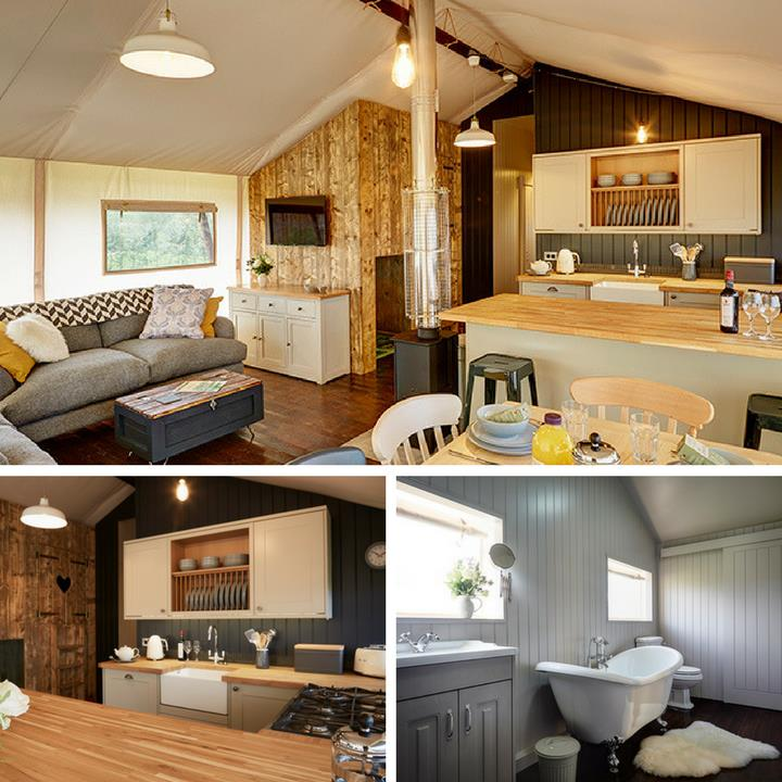 Glamping holidays pods in the UK with Love2Stay