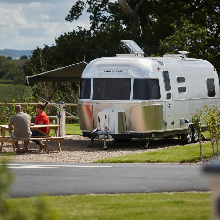 Touring caravan and motorhome holidays park near wales with Love2Stay